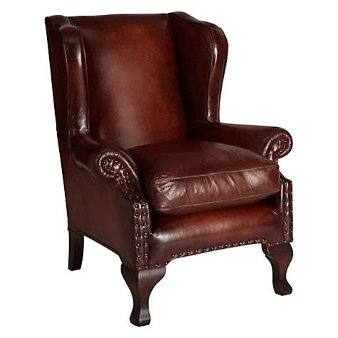 Leather Armchairs Lewis Buy Lewis Compton Leather Wing Armchair