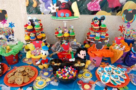 Adorable  Ee  Mickey Ee   Mouse Birthday Party Ideas Table