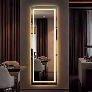 Led, Full, Length, Mirror, Wall, Mounted, Lighted, Floor, Mirror, Dressing, Mirror, Make, Up, Mirror, Bathroom