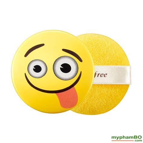 innisfree no sebum mineral powder emoji edition limited stock phấn phủ kiềm dầu innisfree no sebum emoji hàn quốc