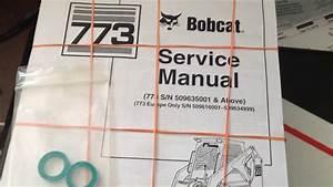 Bobcat 773 Hydraulic Control Valve Leak Repair Part 1