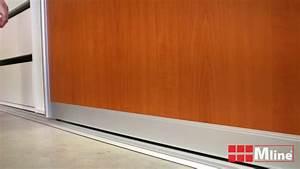 Montáž posuvných dveří do skříně