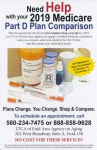 medicare part  plan comparison