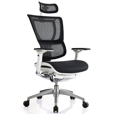 ioo mesh swivel chair with headrest zuri furniture