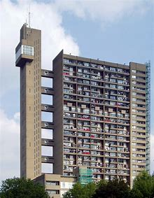 London Brutalist Architecture Tower