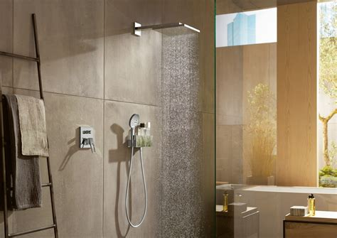 Hansgrohe Bathroom Fixtures by Hansgrohe Axor Square Rectangular Shower Heads Bathhouse