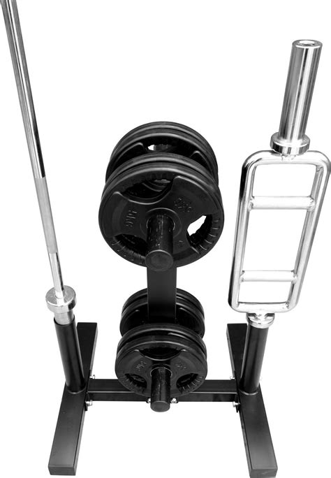 bodyrip  standard   olympic weight disc plate  barbell bar rack stand tree storage