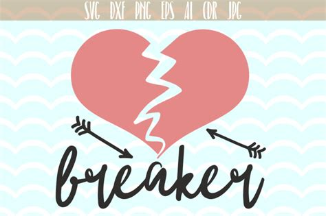 Mother's day coupon vector set. Heard Breaker SVG, Valentines day svg Scalable Vector ...