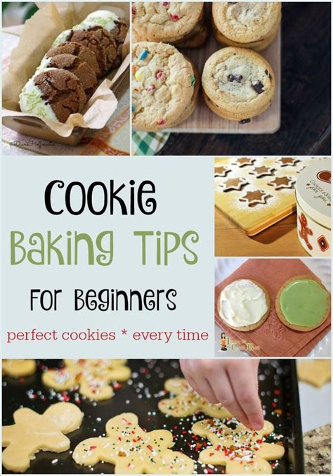 Cookie Baking Tips For Beginners For Perfect Cookies Every Time!  The Internet, Homemade And Mom