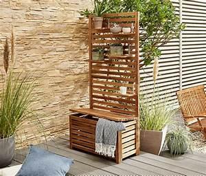 Tchibo Balkon Sichtschutz : balkon sichtschutzbank nabcd ~ Watch28wear.com Haus und Dekorationen
