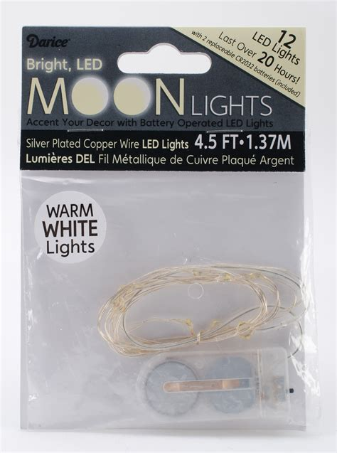 battery operated led moon lights warm white jo
