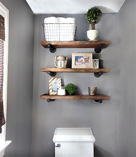bathroom shelving ideas diy bathroom shelves to increase your storage space