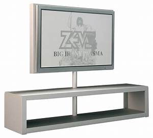 Meuble Tv Ecran Plat : meuble tv big al plasma support d 39 cran plat aluminium anodis zeus ~ Teatrodelosmanantiales.com Idées de Décoration
