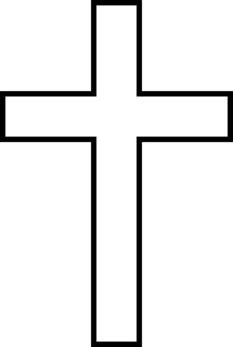 cross template clip art  clkercom vector clip art