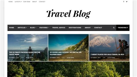 30+ Best Wordpress Travel Themes For Travel Blogs And