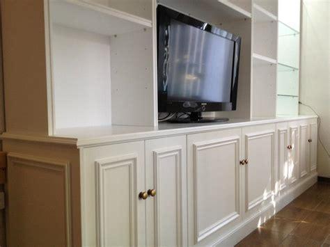 mueble de comedor laqueado en blanco carpinteria de