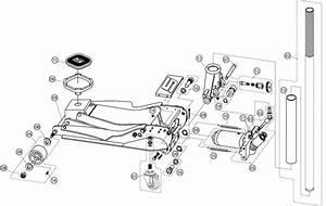 Torin Floor Jack Parts Diagram