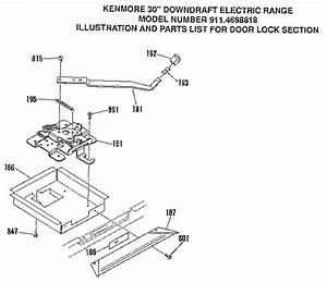 Kenmore Model 9114698898 Free Standing  Electric Genuine Parts