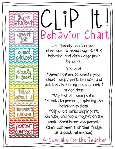a cupcake for the clip it behavior chart 826 | 90058d79df5adfc79d288345fce0fc3e