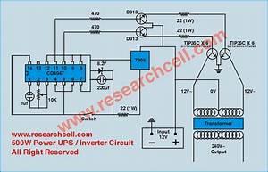 Circuit Diagram Of Inverter 12v To 230v