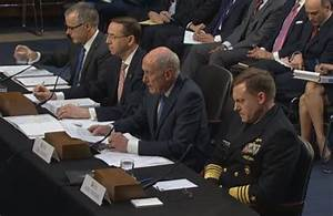 Watch Senate Committee Hearing With Intelligence Chiefs ...