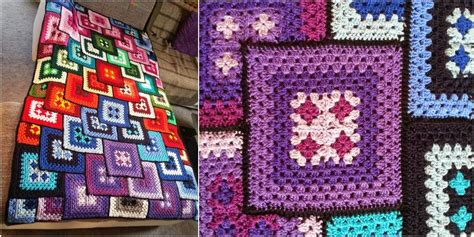 couverture blanket crochet pattern  styles idea