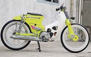 Foto-foto Honda Super Cub Original  U0026 Modifikasi