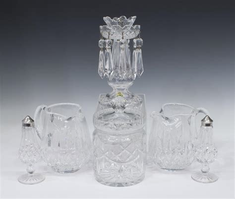 waterford crystal table ls 6 waterford art crystal table serviceware exciting
