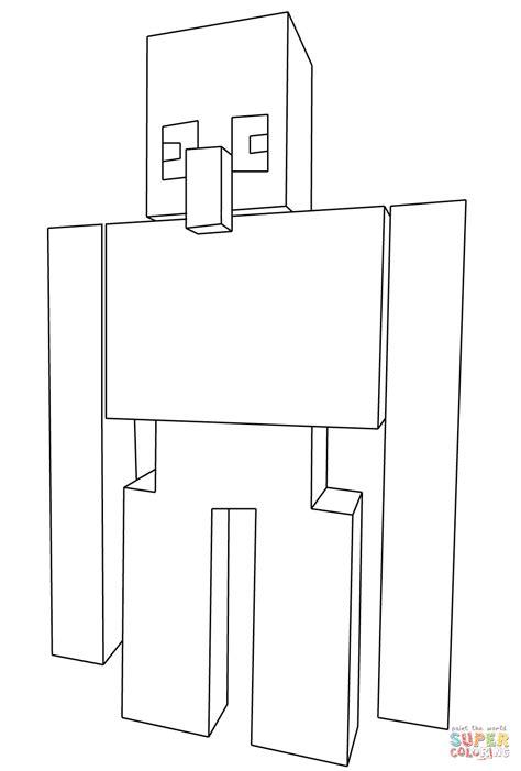 disegni da colorare minecraft scp disegno di steve con spada di diamante di minecraft da
