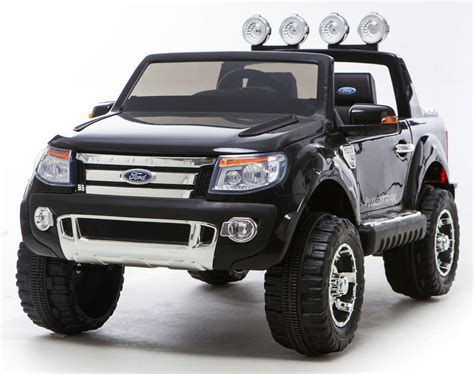 electric 4x4 vehicle black ricco licensed ford ranger 4x4 kids electric ride on