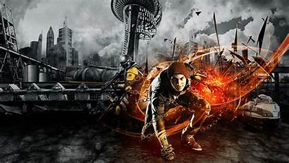 Infamous Son Second Background 1920 1080 Pc