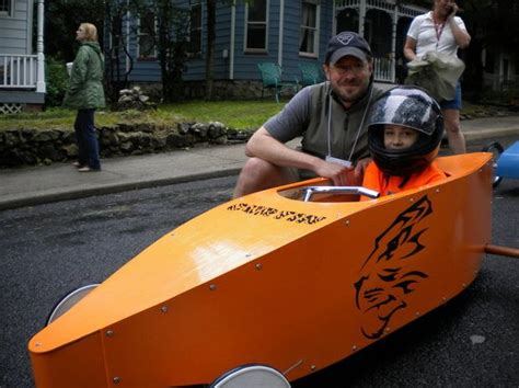 box car for kids kids race homemade cars at soap box derby in high bridge