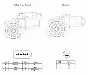 Window Motor Diagram