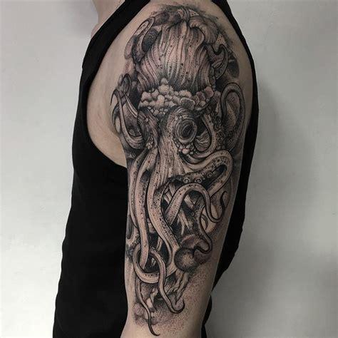 dark  eerie creature tattoos  russian artist bored