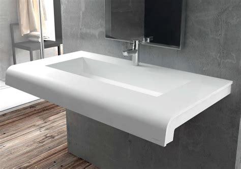 vasques largeur 120 plan vasque solid surface 120 x 50 cm en r 233 sine puzzle caniveau acrymold
