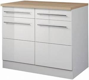 Küchenunterschrank 80 Cm : held m bel k chenunterschrank breite 100 cm otto ~ Whattoseeinmadrid.com Haus und Dekorationen