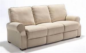 Electric recliner sofas genella reclining sofa with for Sectional sofa with electric recliner