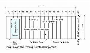 Garage Wall Framing