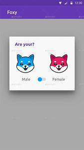 Anonymous Social Networking Android iOS App UI: Foxy by ...
