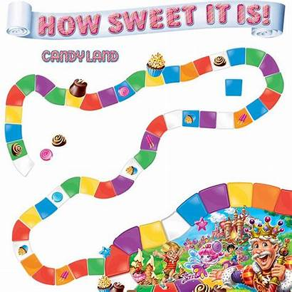 Candyland Classroom Bulletin Candy Land Board Clipart