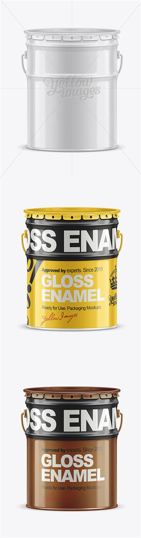 The psd file is easy and fully editable with smart objects. 20L Tin Paint Bucket Mockup 19464 TIF » AVAXGFX - All ...