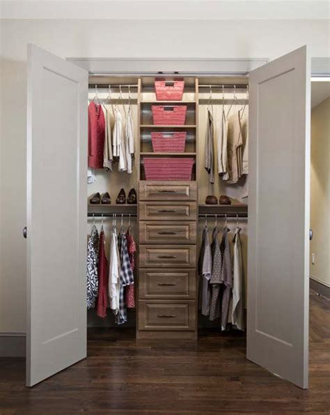 What Does Closet by Simple Tips For Small Walk In Closet Ideas Diy Amaza Design