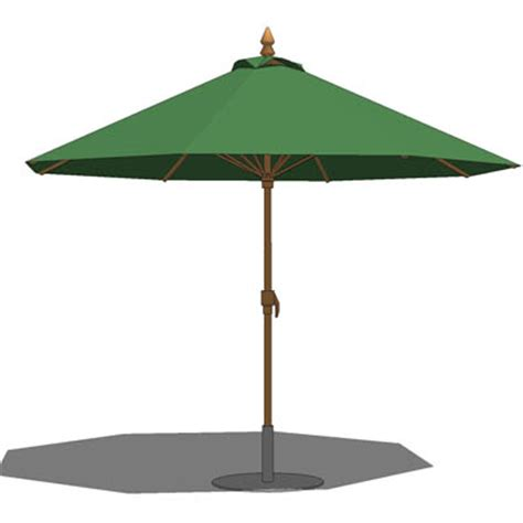 patio umbrella 3d model formfonts 3d models textures