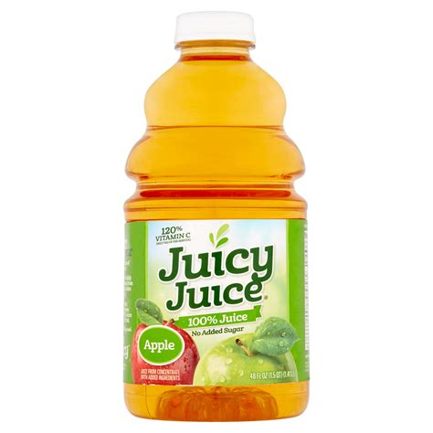 juice juicy apple 48 oz fl walmart wal