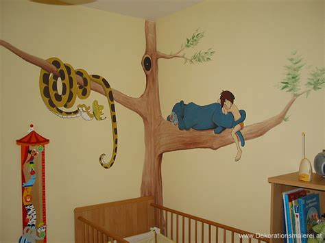Wandgestaltung Babyzimmer Disney by Wandmalerei Kinderzimmer