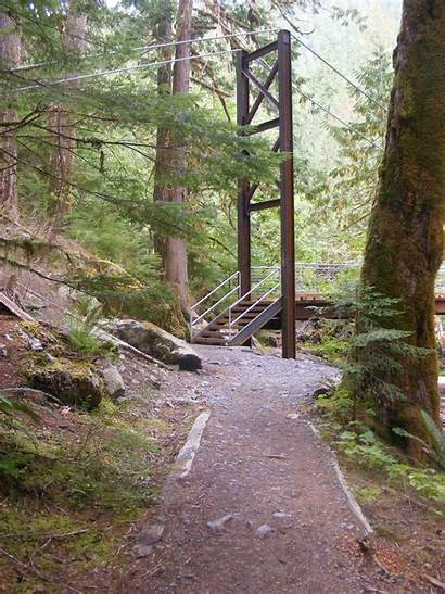 Olympic Staircase National Park Trail Rapids Right