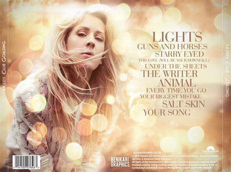Lights Album Ellie Goulding by Benikari47 S Graphics Ellie Goulding Lights The