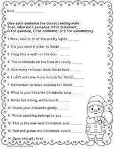 2nd grade grammar christmas 2nd grade grammar on possessive nouns proper nouns and 2nd grades