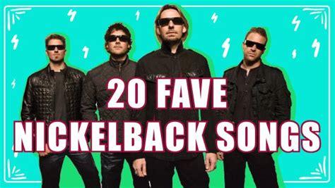 best nickelback songs 20 fave nickelback songs paperblog