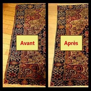 reparation de tapis a paris tapis bouznah With restauration tapis paris